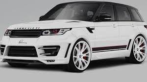 land rover sport 2013 2014 range rover sport already tweaked by lumma design