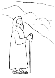 bible story coloring death moses free bible stories