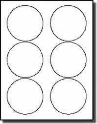 3 1 3 inch diameter round labels stickers avery 5195 5295