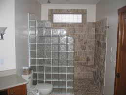glass block designs for bathrooms outstanding awesome glass block wall bathroom ideas best bathroom