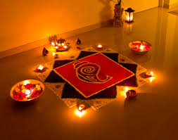 hindu decorations for home diwali