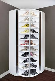 the best corner closet a revolving shoerack recycling mode