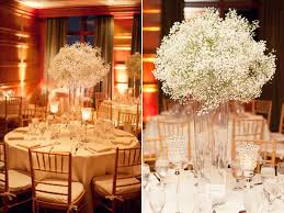 baby breath centerpieces décor trend we baby s breath bridalguide