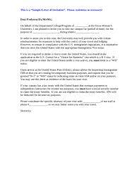 Business Letter Of Invitation Sample invitation letter for friend to visit uk futureclim info