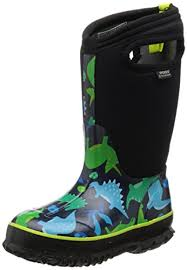 bogs s boots size 12 bogs dinosaur waterproof boot toddler kid big