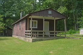 chestnut ridge park lodging rustic cabins