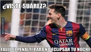 Memes De Lionel Messi - chions league lionel messi se vuelve blanco de memes tras