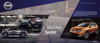 crossover nissan nissan sprint compact crossover by rigun k g at coroflot com