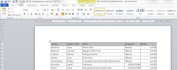 how do i keep my table headings over multiple pages in a word