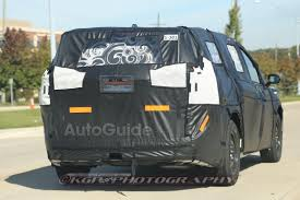 2017 chrysler minivan interior revealed autoguide com news