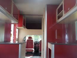 motorhome interior caravan seat idea creative mobile garage design