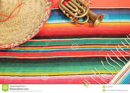 Bright Colored Rugs Mexican Fiesta Poncho Rug In Bright Colors With So Stock Image