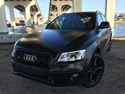 Audi Q5 Blue - matte black audi q5 dr pigment