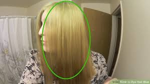 Do U Wash Hair Before Coloring - how to dye hair blue 14 steps with pictures wikihow