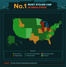 Real Map Of The World by A Car Is Stolen Every 43 Seconds In The Usa See The Real Map Of