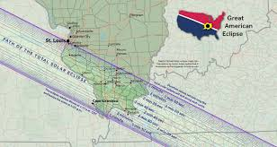 Map Of Belleville Illinois by Carbondale And The Solar Eclipse 2017 Solar Eclipse