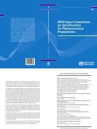 oms bpm informe 48 world health organization pharmaceutical drug