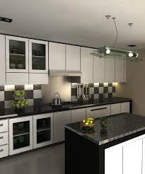 Contemporary White Kitchen Designs 40 Beautiful Black White Kitchen Designs Tile For Small Kitchens
