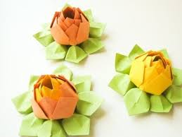 cara membuat origami bunga yang indah cara membuat origami bunga lotus yang cantik do it yourself club