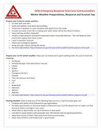 task force checklist