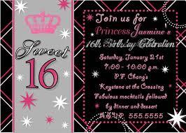 sweet 16 party invitations sweet 16 party invitations to make