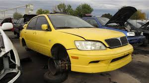 mitsubishi lancer gts jdm junkyard treasure 2003 mitsubishi lancer oz rally edition autoweek