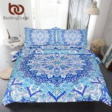 bedding outlet stores beddingoutlet 3 piece bohemian bedding set floral paisley pattern