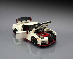 lego honda civic nissan gt r nismo fan made lego replica is the blocky godzilla you