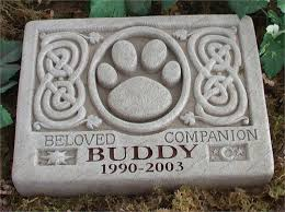 pet memorials pet marker personalized pet memorial marker with celtic desgin
