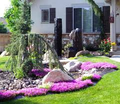 Front Landscaping Ideas by Low Maintenance Landscaping Ideas Ranch House For Front Yard Best