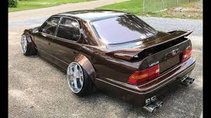 jdm lexus ls400 vip u0027 wide body 1995 lexus ls400 one take youtube
