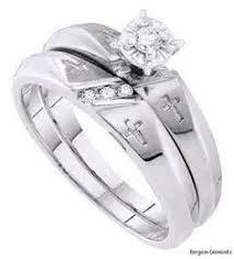 christian wedding rings sets christian rings wedding promise engagement