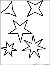 star shape coloring page getcoloringpages com