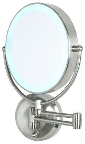 wall mounted makeup mirror with lighted battery battery operated wall mounted lighted makeup mirror cordless led