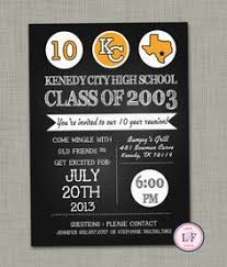 high school class reunion invitations custom printable school or family reunion invitation chevron
