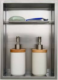 Bathroom Shower Storage Shower Niche Shower Storage Reinvented Redblock Industries