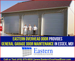 Overhead Door Maintenance Eastern Overhead Door Provides General Garage Door Maintenance In