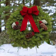 christmas reefs acadia christmas wreath fresh christmas wreath