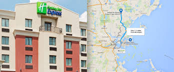 Boston Logan Airport Map Hotel Near Boston Airport Holiday Inn Express Saugus