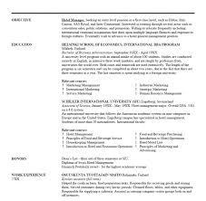 Resume Font Size 10 Resume Ideal Font Size