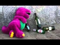 drunk barney song