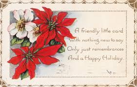 christmas postcards postcard