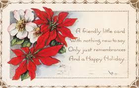 christmas postcard postcard