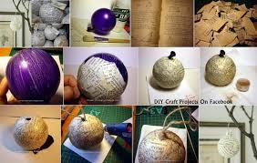 diy christmas ornaments ideas diy craft projects