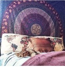home accessory purple tapestry boho hippie summer home decor
