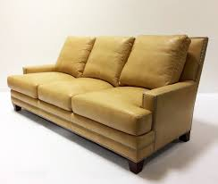 Henredon Leather Sofa Henredon Leather Company Upholstery Furniture Intended For Sofa