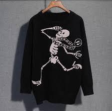 skull sweater harajuku fashion skull sweater sweater harajuku