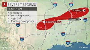 Dallas Weather Radar Map by Potentially Damaging Storms To Threaten Texas To Ohio Friday Night