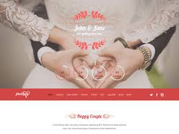 28 high quality wedding website templates templatemag