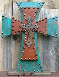 wooden crosses for crafts decorated wooden cross with gems by grammieself on etsy 35 00